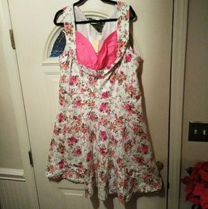 Lindy Bop Reto 50s Pin-up Swing Dress sz 22-24